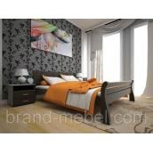 Деревянная кровать ТИС Ретро 1 дуб 90х200