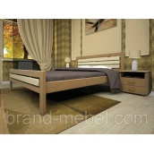 Деревянная кровать ТИС Модерн 1 бук 90х200