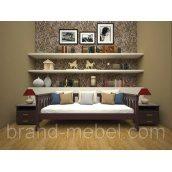 Дерев'яне ліжко-диван ТИС Рондо 3 дуб 80х190