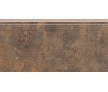 Керамогранитная ступень 35807 Cerrad Apenino Rust 597x297x8,5 мм