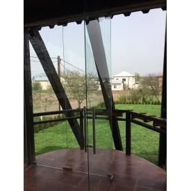 Стеклянная перегородка Гармошка 3000х6000 мм