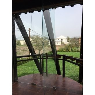 Скляна перегородка Гармошка 3000х6000 мм