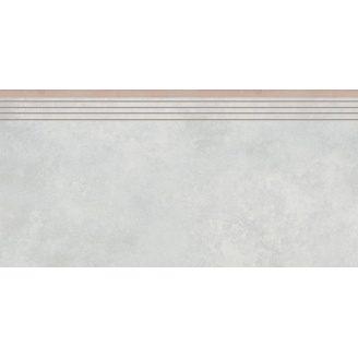 Керамогранитная ступень 35746 Cerrad Apenino Bianco 597x297x8,5 мм