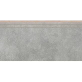 Керамогранитная ступень 35784 Cerrad Apenino Gris 597x297x8,5 мм