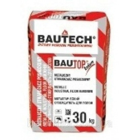 Металевий затверджувач для підлоги BAUTECH Bautop BT-400/Е натуральний сірий