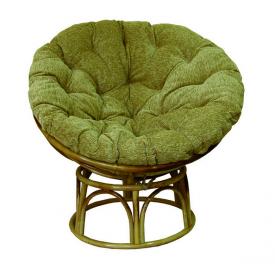 Овальное кресло Папасан ЧФЛИ из ротанга 1050х1200 мм