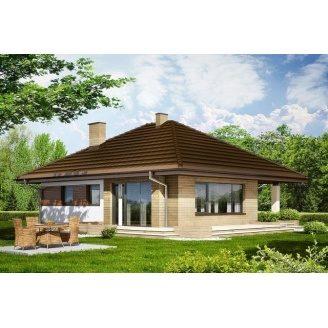 Строительство дома в сирене 9,2х11,3 м