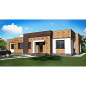 Проект одноповерхового будинку М2-124 212 м2