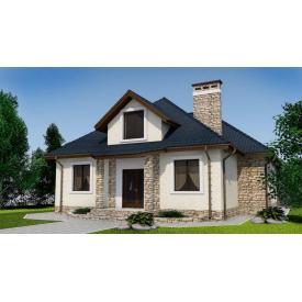 Проект двоповерхового будинку М2-130 280 м2