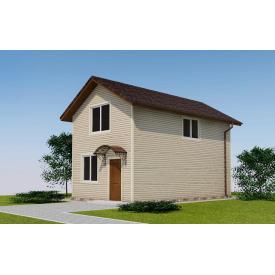 Проект двоповерхового будинку М2-107 89 м2