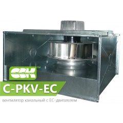 C-PKV-EC канальный центробежный вентилятор с ЕС-двигателем