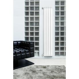 Вертикальний алюмінієвий радіатор Fondital GARDA DUAL ALETERNUM