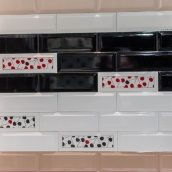 Настенная керамическая плитка АТЕМ Florian W 300х100 мм