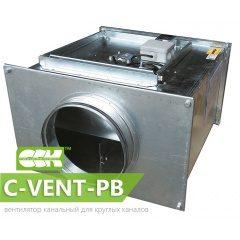 C-VENT-PB вентилятор канальный для круглых каналов с назад загнутыми лопатками