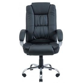 Кресло для руководителя Калифорния Richman 1170-1270х520х520 мм черное