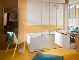 Преимущество акриловых ванн перед чугунными