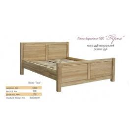 Кровать Троя 160 Мебель-Сервис 198х98х211 дуб натуральный