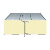 Сэндвич-панель ТПК стеновая ППС закрытый замок 80х1000 мм
