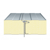 Сэндвич-панель ТПК стеновая ППС закрытый замок 100х1000 мм