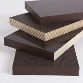 Фанера СВЕЗА ФСФ Сит/ГЛ ламинированная влагостойкая 2500х1250х9 мм темно-коричневый
