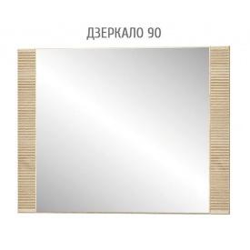 Зеркало 90 Гресс Мебель-Сервис 927х700 дуб санома
