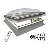 Окно для плоских крыш FAKRO DEC-C U8 100х100 см