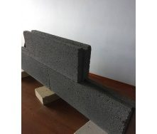 Шлакоблок строительный перегородочный 80х190х500 мм