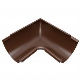 Внутрішній кут жолоба Акведук Преміум 90 градусів 150 мм коричневий RAL 8017