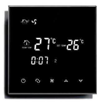 Сенсорный недельный программируемый терморегулятор warm life для теплых полов