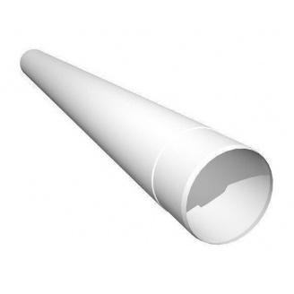 Труба водостічна Ruukki 90 мм 1 м білий