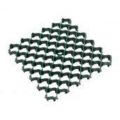 Газонна решітка Альта-Профіль з посиленим профілем 35 мм 500х500 мм зелений