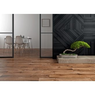 Керамогранит Zeus Ceramica BRICCOLE WOOD BROWN ZZXBL6R 15х90 см