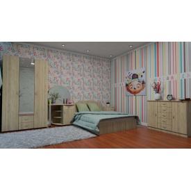 Спальня Компаніт комплект №1 дсп дуб-сонома