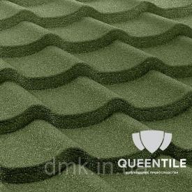 Композитная черепица QueenTile Standard 6-тайловый Green