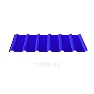 Профнастил покрівельний С-18 0,45 PE синій (RAL 5005)