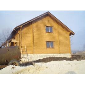Будівництво дерев'яних будинків під ключ