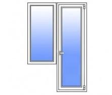 Балконний блок Стімекс Кommerling 76AD 1900х2100 мм