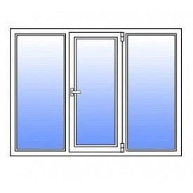 Металопластикове вікно Стімекс Кommerling 70GT 1750х1300 мм