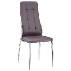 Мягкий стул Дорис Richman метал-хром темный