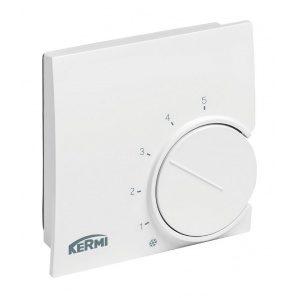 Термостат Kermi x-net настінний 230 В 75х75х27,5 мм білий