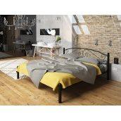 Кровать Tenero Виола двуспальная 1200х1900 мм черная