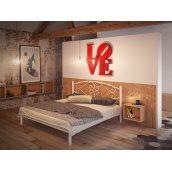 Кровать Tenero Камелия двуспальная 1200х1900 мм белая