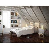 Кровать Tenero Иберис Мини односпальная 900х1900 мм бежевая