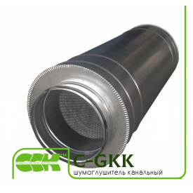 Шумоглушитель для вентиляции канальный C-GKK-125-600