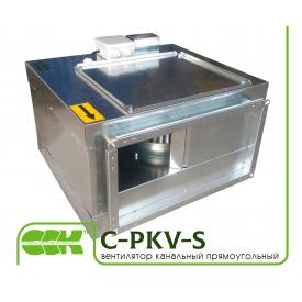Вентилятор C-PKV-S-50-30-4-380 для прямоугольных каналов в шумоизолированном корпусе