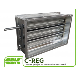 Клапан воздушный унифицированный для канальной вентиляции C-REG-50-25