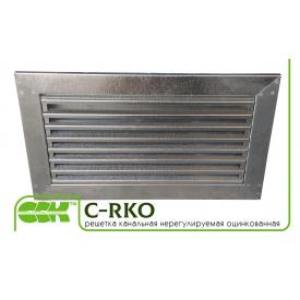 Решетка нерегулируемая для канальной вентиляции C-RKO-50-30
