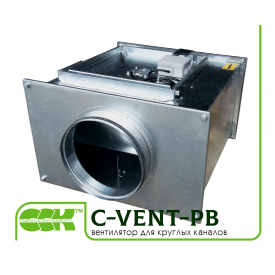 Вентилятор для круглых каналов C-VENT-PB-125-4-220