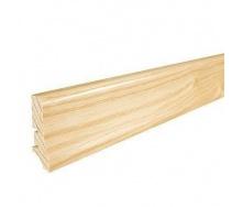 Плінтус дерев'яний Barlinek P20 Ясен 58х20х2200 мм