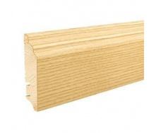 Плінтус дерев'яний Barlinek P60 Ясен 90х16х2200 мм